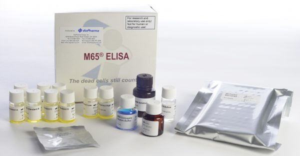 Peviva M65 apoptosis necrosis cytokeratin CK18 ELISA assay test kit