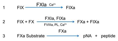 Rossix Rox Factor XIa chromogenic assay kit measurement principle