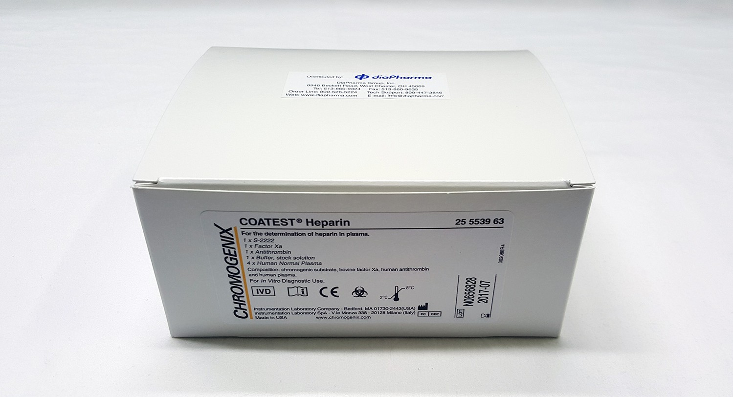 Chromogenix Coatest Heparin Chromogenic Assay Test Kit