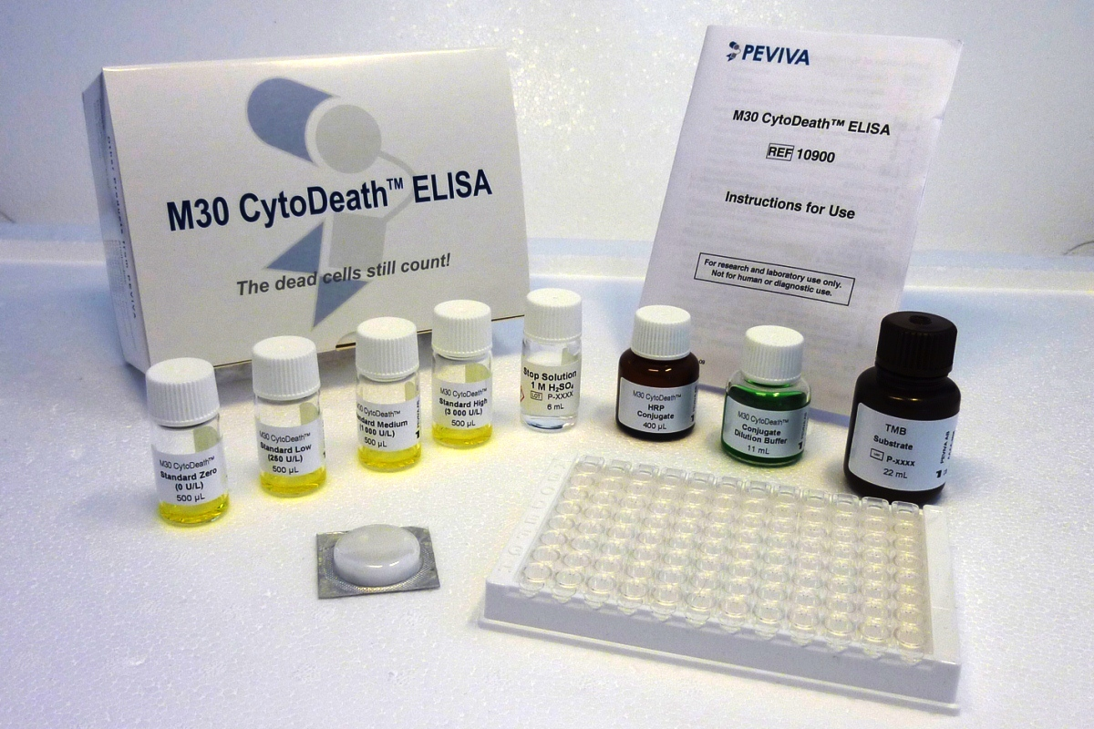 M30 apoptosis necrosis cytokeratin CK18 ELISA assay test kit