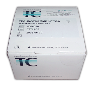 Technothrombin Thrombin Generation Assay fluorogenic Test Kit