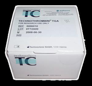 Technothrombin Thrombin Generation Assay fluorogenic Test Kit