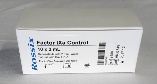 Rox Factor IXa chromogenic assay test kit