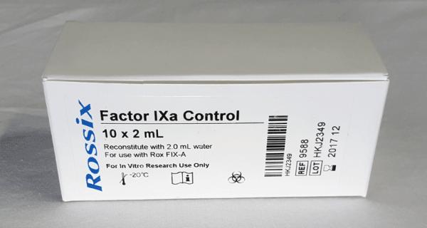 Rox Factor IXa chromogenic assay test kit