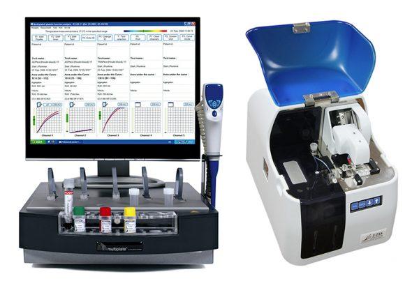 Multiplate platelet function testing aggegometry