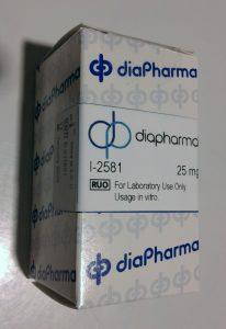 I-2581 Thrombin Inhibitor Chromogenic Substrate Lyophlized