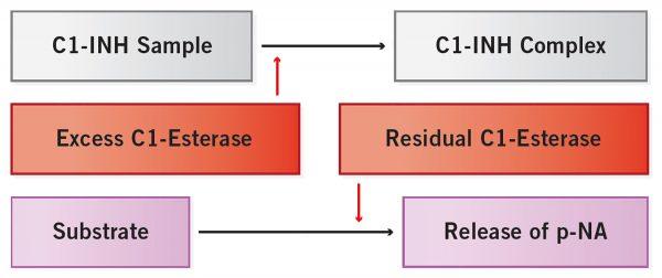 research hereditary angioedema chromogenic assay c1 esterase inhibitor