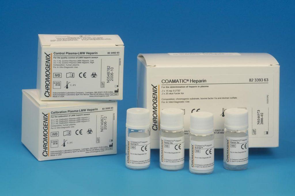 chromogenic heparin test kit